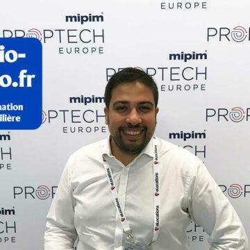 L'interview d'Ali El Hariri, CEO de BulldozAIR sur Radio IMMO au MIPIM Proptech
