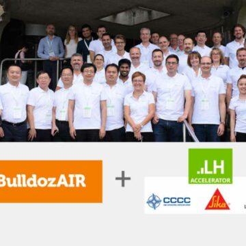 BulldozAIR commence le programme LafargeHolcim Accelerator !