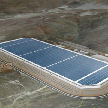 La Gigafactory de Tesla