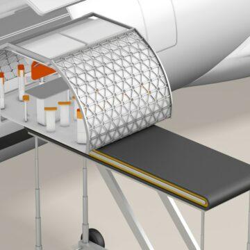 Transpose: Airbus envoie des modules dans les airs