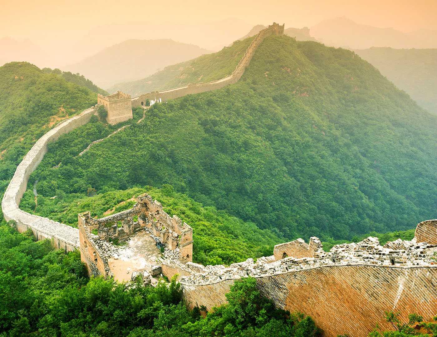 Cómo Fue Construída La Gran Muralla China Blog Bulldozair